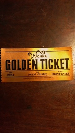 Golden Ticket - comprar online