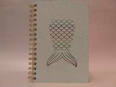 Cuaderno Mermaid Tail - Onda Shop