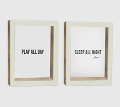 Set Cuadros Play Sleep