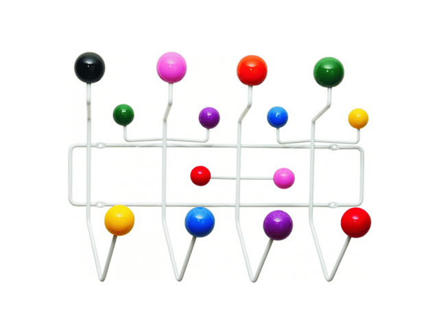 Perchero Eames Bolas de Colores