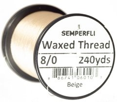Hilo encerado 8/0 Semperfli Waxed Thread 240yardas en internet