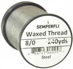 Hilo encerado 8/0 Semperfli Waxed Thread 240yardas