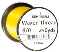 Hilo encerado 8/0 Semperfli Waxed Thread 240yardas - Duck Master
