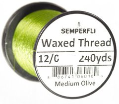 Hilo encerado 12/0 Semperfli Waxed Thread 240yardas - Duck Master