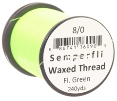 Semperfli Waxed Thread Fluorescente 240 yardas - Duck Master
