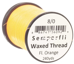 Semperfli Waxed Thread Fluorescente 240 yardas en internet
