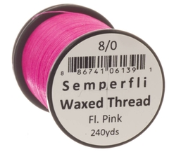 Semperfli Waxed Thread Fluorescente 240 yardas - comprar online