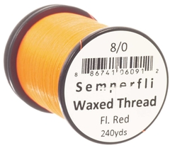 Semperfli Waxed Thread Fluorescente 240 yardas - tienda online