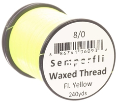 Imagen de Semperfli Waxed Thread Fluorescente 240 yardas