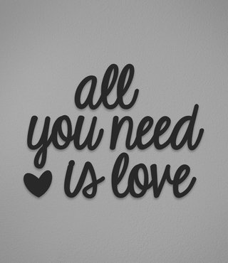 All You Need (acrílico)