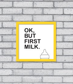 Quadro First Milk na internet