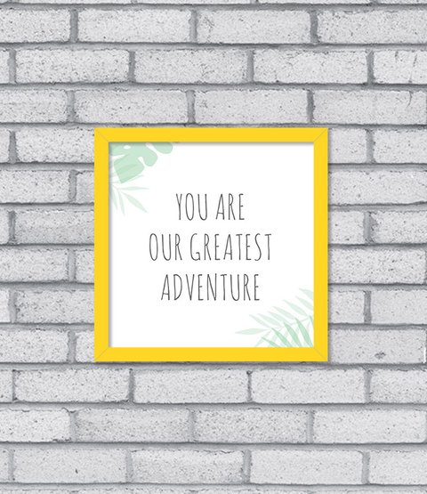 Quadro Greatest Adventure