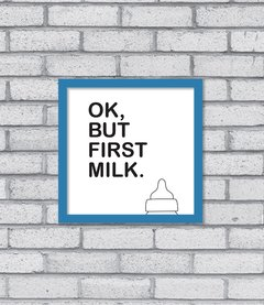 Quadro First Milk - [pendurama]