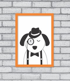 Quadro Hipster Puppy - loja online