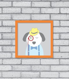 Quadro Hipster Puppy