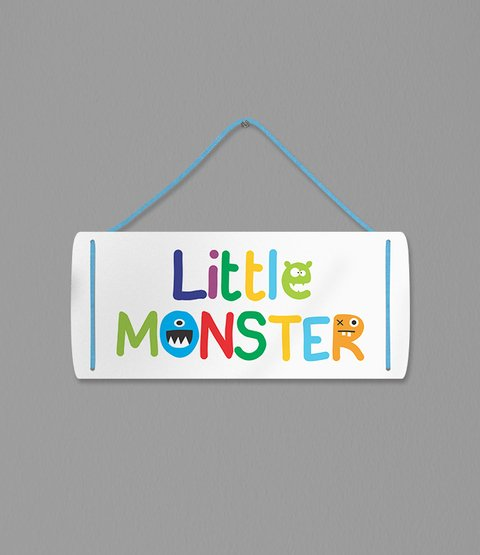 Placa Little Monster