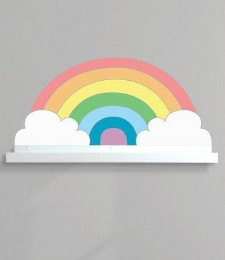 Prateleira + Adesivo Rainbow Color
