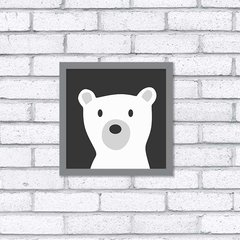 Quadro Teddy White na internet