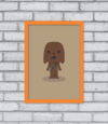 Quadro Cute Chewbacca na internet