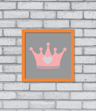 Quadro Crown na internet
