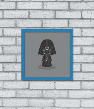 Quadro Cute Darth Vader