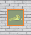 Quadro Cute Jabba the Hutt na internet