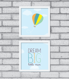 Quadro Dream Big (duplo) na internet