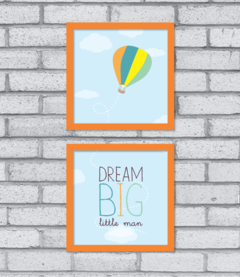Quadro Dream Big (duplo)