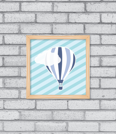 Quadro Hot Balloon