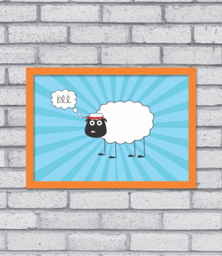 Quadro John Sheep na internet