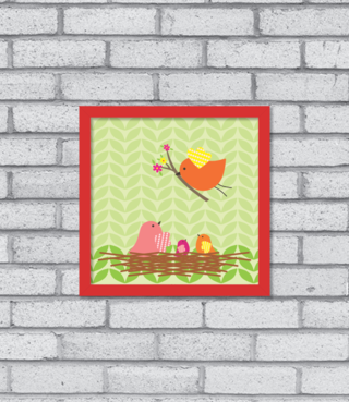 Quadro Little Birds