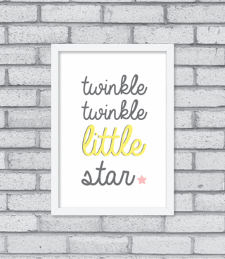 Quadro Little Star