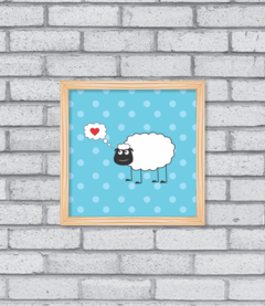Quadro Loving Sheep na internet
