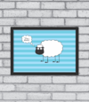 Quadro Sheep Asleep - [pendurama]
