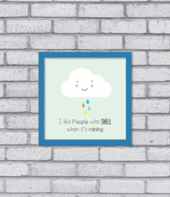 Quadro Smiling Cloud