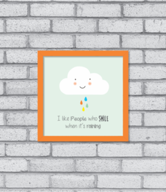 Quadro Smiling Cloud na internet