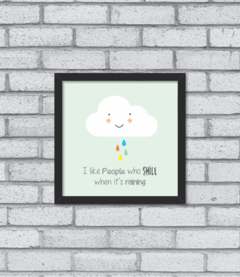 Quadro Smiling Cloud - [pendurama]