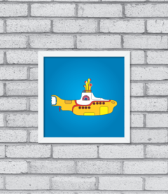 Quadro Yellow Submarine na internet