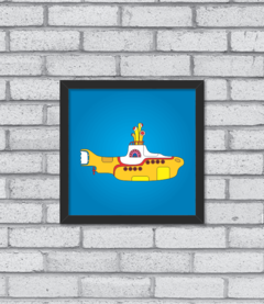 Quadro Yellow Submarine - [pendurama]