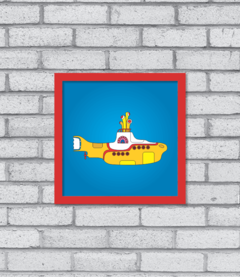 Quadro Yellow Submarine
