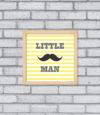 Quadro Little Man - [pendurama]