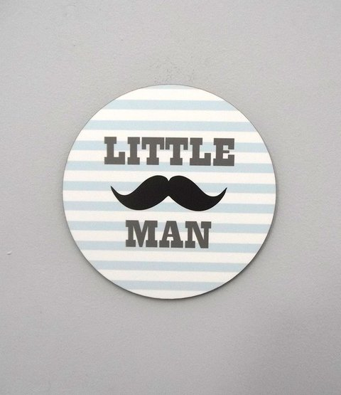 Placa Little Man
