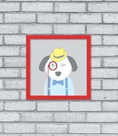 Quadro Hipster Puppy - comprar online