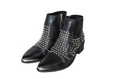 Bota Texana color negro con tachas