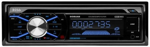 Estereo Boss 508 UAB con CD/Bluetooth/Sd/Mp3/Am - Fm  y SmartPhones CON AURICULAR HAVIT BLUETOOTH DE REGALO!!! (copia)