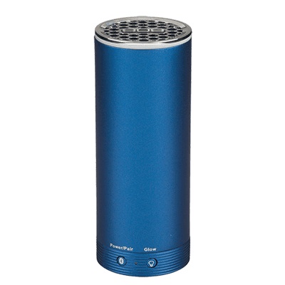 PARLANTE BLUETOOTH PORTATIL 808 AUDIO SP251 EN ALUMINIO ANODIZADO CON LUZ DE LED MULTI MODO