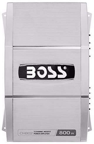 Potencia Boss Audio System 800 Watts! Chaos Ch802 Peak Power en internet