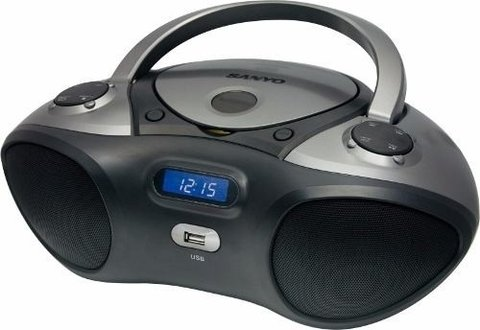 Radiograbador Mdx-1600 Sanyo Cd/mp3/usb