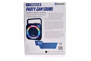 Parlante Fisher Bluetooth 6 Pulg  60 W. - Luces Multicolores - CON AURICULAR HAVIT BLUETOOTH DE REGALO!!! en internet
