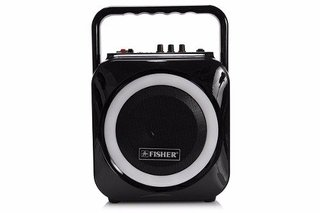 Parlante Fisher Bluetooth 6 Pulg  60 W. - Luces Multicolores - CON AURICULAR HAVIT BLUETOOTH DE REGALO!!! - tienda online